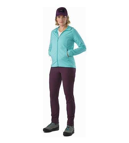Sabria Pant Women's Purple Reign Front View