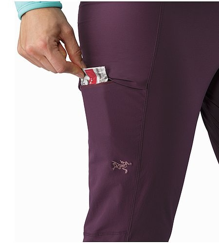 Sabria Pant Women's Purple Reign Thigh Pocket