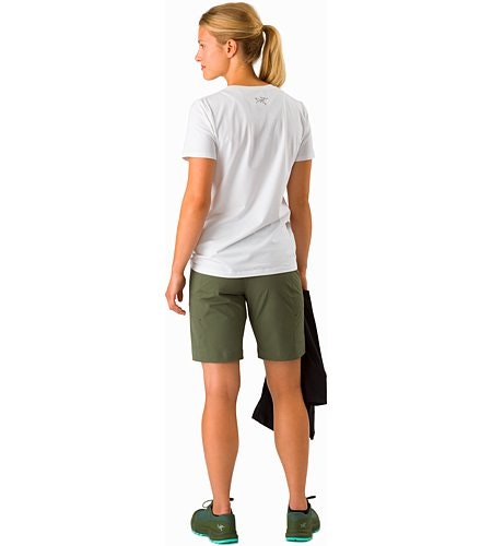 Sabria Short Women's Shorepine Back View