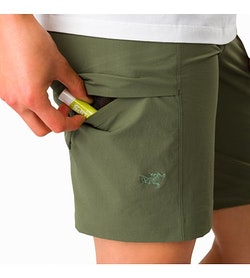 Sabria Short Women's Shorepine Thigh Pocket