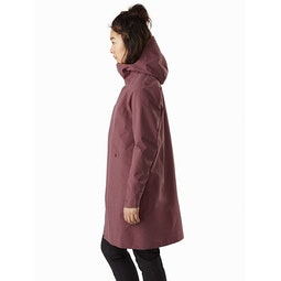 Sandra Coat Women's Inertia Heather Side View