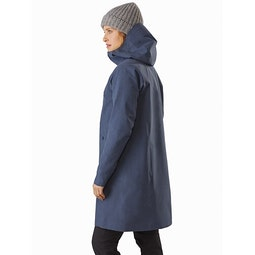Sandra Coat Women's Megacosm Heather Back View
