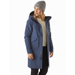 Sandra Coat Women's Megacosm Heather Open View