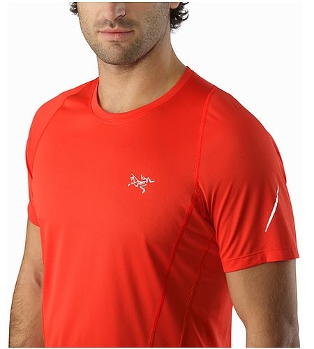 Sarix SS Shirt Cardinal Neckline