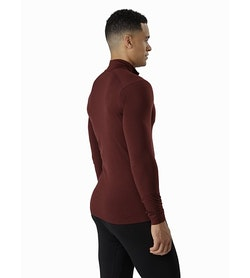 Satoro AR Zip Neck Shirt LS Flux Back View