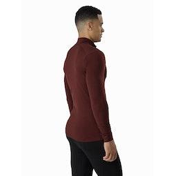 Satoro AR Zip Neck Shirt LS Flux Back View