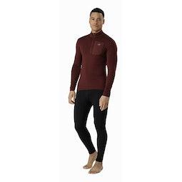 Satoro AR Zip Neck Shirt LS Flux Full Body