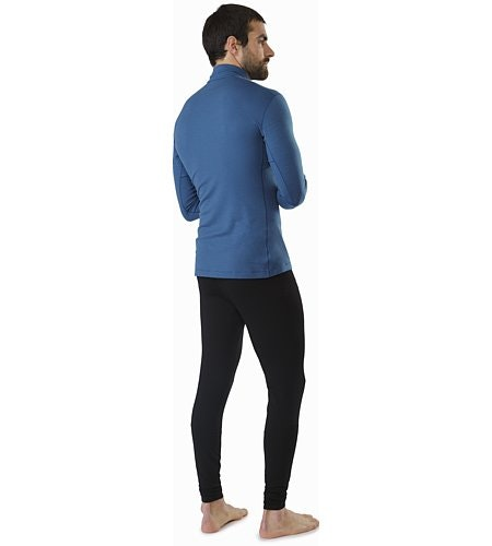 Satoro SV Zip Neck LS Light Hecate Back View