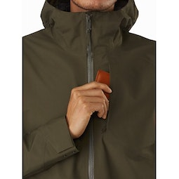 Sawyer Coat Draceana Chest Pocket