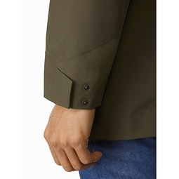 Sawyer Coat Draceana Cuff