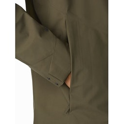 Sawyer Coat Draceana Hand Pocket