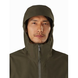 Sawyer Coat Draceana Hood