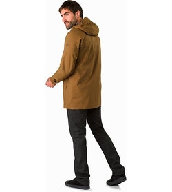 Sawyer Coat Elk Back View