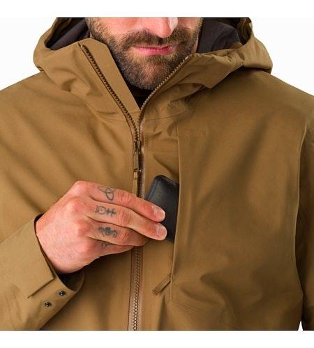 Sawyer Coat Elk Chest Pocket