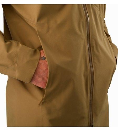 Sawyer Coat Elk Hand Pocket