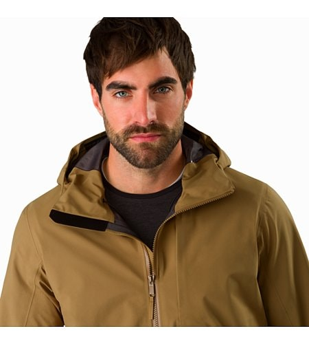 Sawyer Coat Elk Open Collar