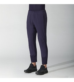 Secant Comp Pant Ink Front View Tucked