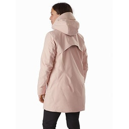 Sensa Parka Women's Macrame Back View