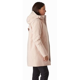 Sensa Parka Women's Macrame Side View