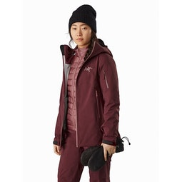 Sentinel AR Jacket Women's Dark Inertia Open View