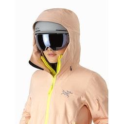 Sentinel AR Jacket Women's Elixir Helmet Compatible Hood