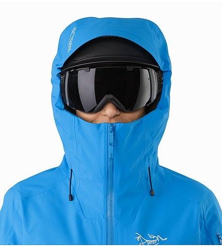 Sentinel Jacket Women's Baja Helmet Compatible Hood Front View