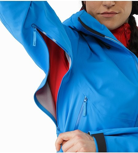Sentinel Jacket Damen Baja Unterarmreißverschluss