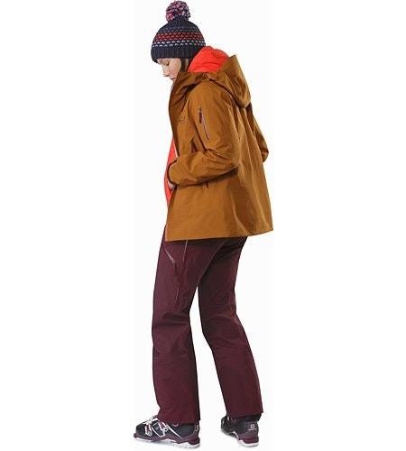 Sentinel Jacket Women's Rhassoul Back View