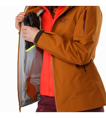Sentinel Jacket Women's Rhassoul Internal Dump Pocket