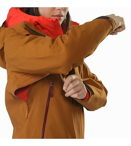 Sentinel Jacket Women's Rhassoul Pit Zip