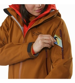 Sentinel Jacket Women's Rhassoul Sleeve Pocket