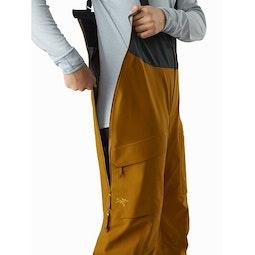 Sentinel LT Bib Pant Women's Sundance Side Zipper