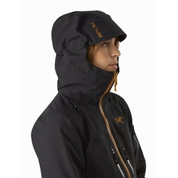 Sentinel LT Jacket Women's Dark Magic Hood Up