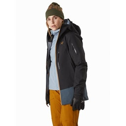Sentinel LT Jacket Women's Dark Magic Open View