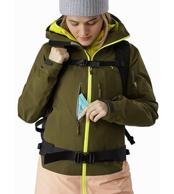 Sentinel LT Jacket Women's Treeline Hand Pocket