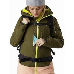 Sentinel LT Jacket Women's Treeline Hand Pocket