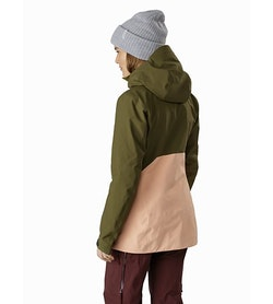 Sentinel LT Jacket Women's Treeline Tonic Back View