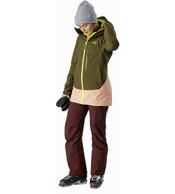 Sentinel LT Jacket Women's Treeline Tonic Full Body