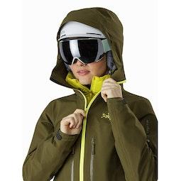 Sentinel LT Jacket Women's Treeline Tonic Helmet Compatible Hood
