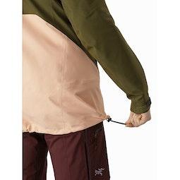 Sentinel LT Jacket Women's Treeline Tonic Hem Adjuster