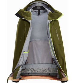 Sentinel LT Jacket Women's Treeline Tonic Interior View