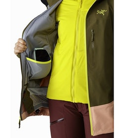 Sentinel LT Jacket Women's Treeline Tonic Internal Dump Pocket