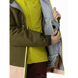 Sentinel LT Jacket Women's Treeline Tonic Internal Security Pocket