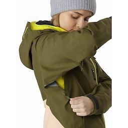 Sentinel LT Jacket Women's Treeline Tonic Pit Zip