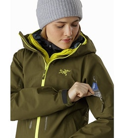 Sentinel LT Jacket Women's Treeline Tonic Sleeve Pocket