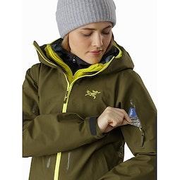 Sentinel LT Jacket Women's Treeline Tonic Sleeve Pocket