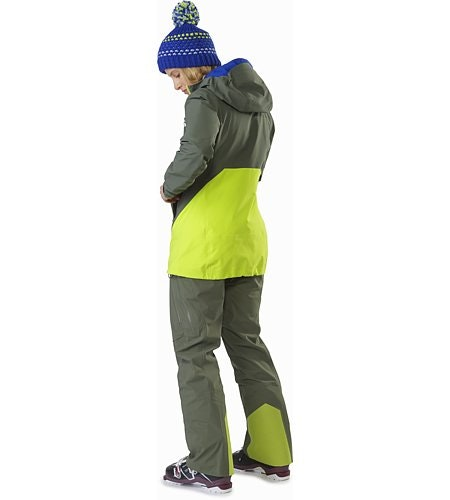 Sentinel LT Jacket Women's Twisted Pine Back View