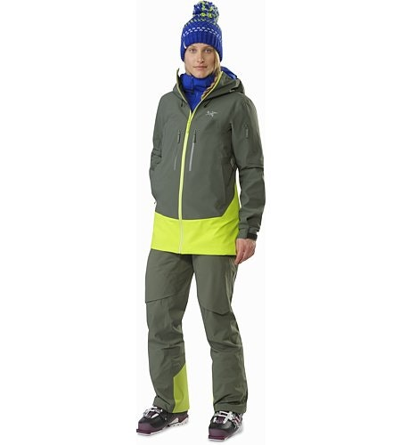 Sentinel LT Jacket Women's Twisted Pine Front View