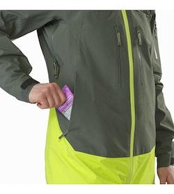 Sentinel LT Jacket Women's Twisted Pine Hand Pocket