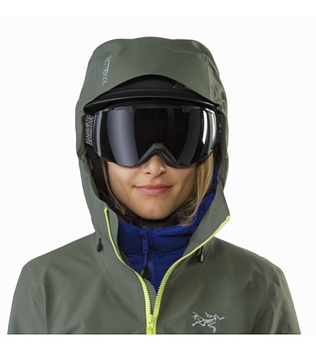 Sentinel LT Jacket Women's Twisted Pine Helmet Compatible Hood